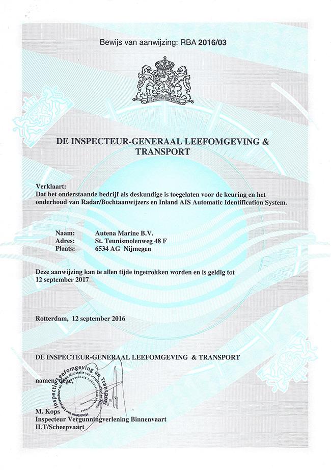certificering-ais